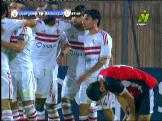 اهداف مباراة الزمالك 6 - 1 طلائع الجيش