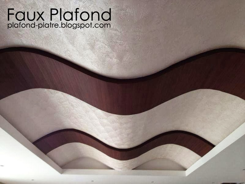 Faux plafond suspendu ondulé 2014 - Faux Plafond Idéal
