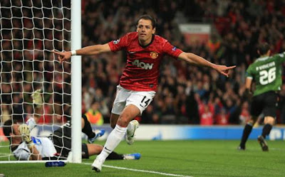 javier hernandez, chicharito, manchester united, mexico