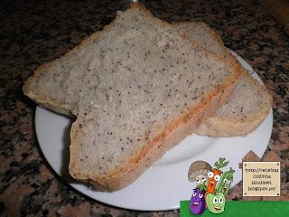 Pão com Sementes de Papoila