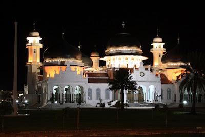 Mesjid Raya Baiturrahman Banda Aceh
