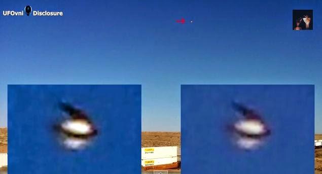 New Mexico : Superbe OVNI au-dessus de Socorro, le 8 Juin 2014