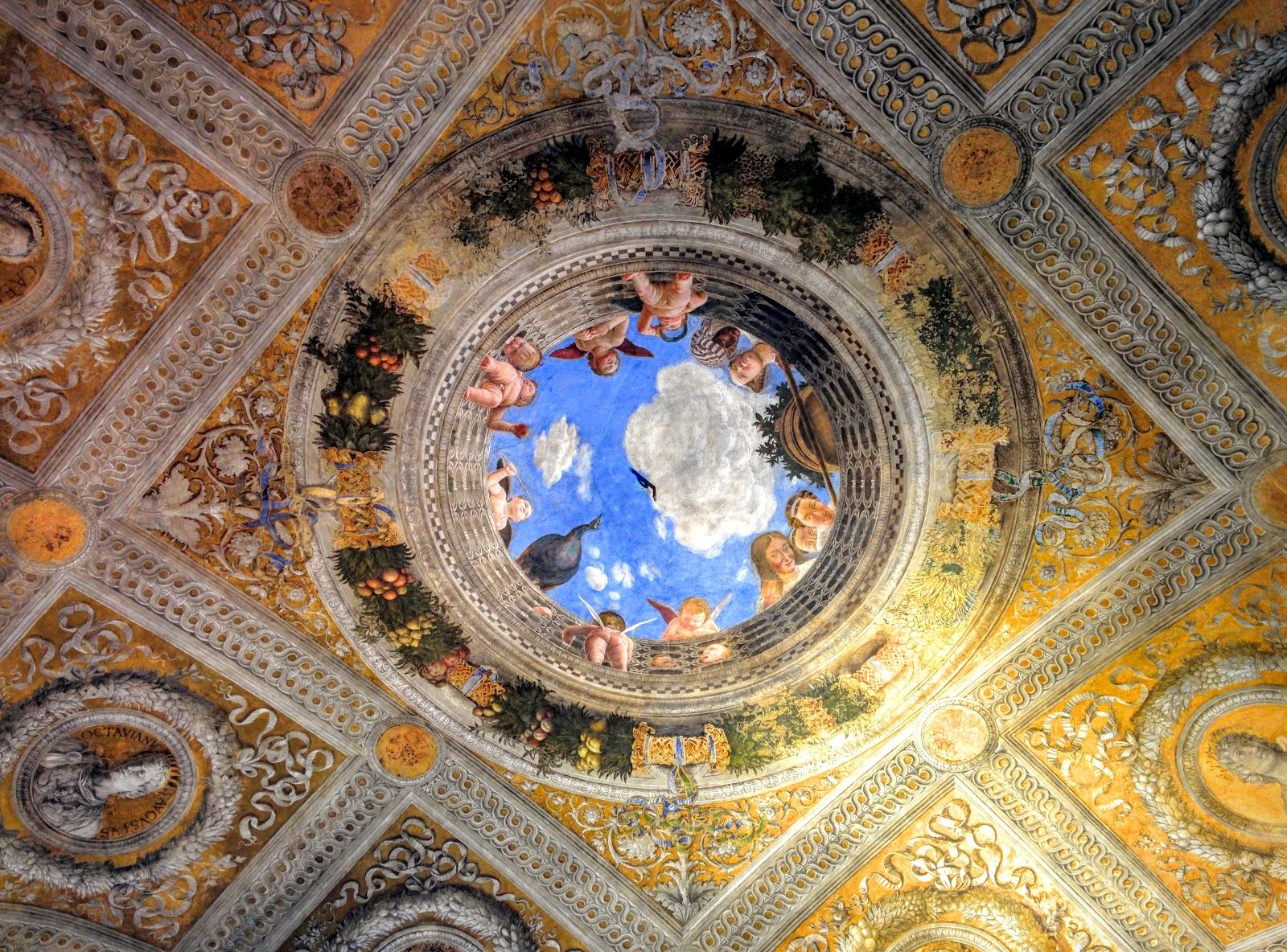 Itinerario mantova alla corte dei gonzaga for Palazzo ducale mantova camera degli sposi