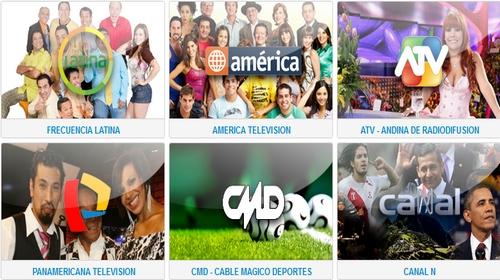 Canales Peruanos en Vivo por Internet
