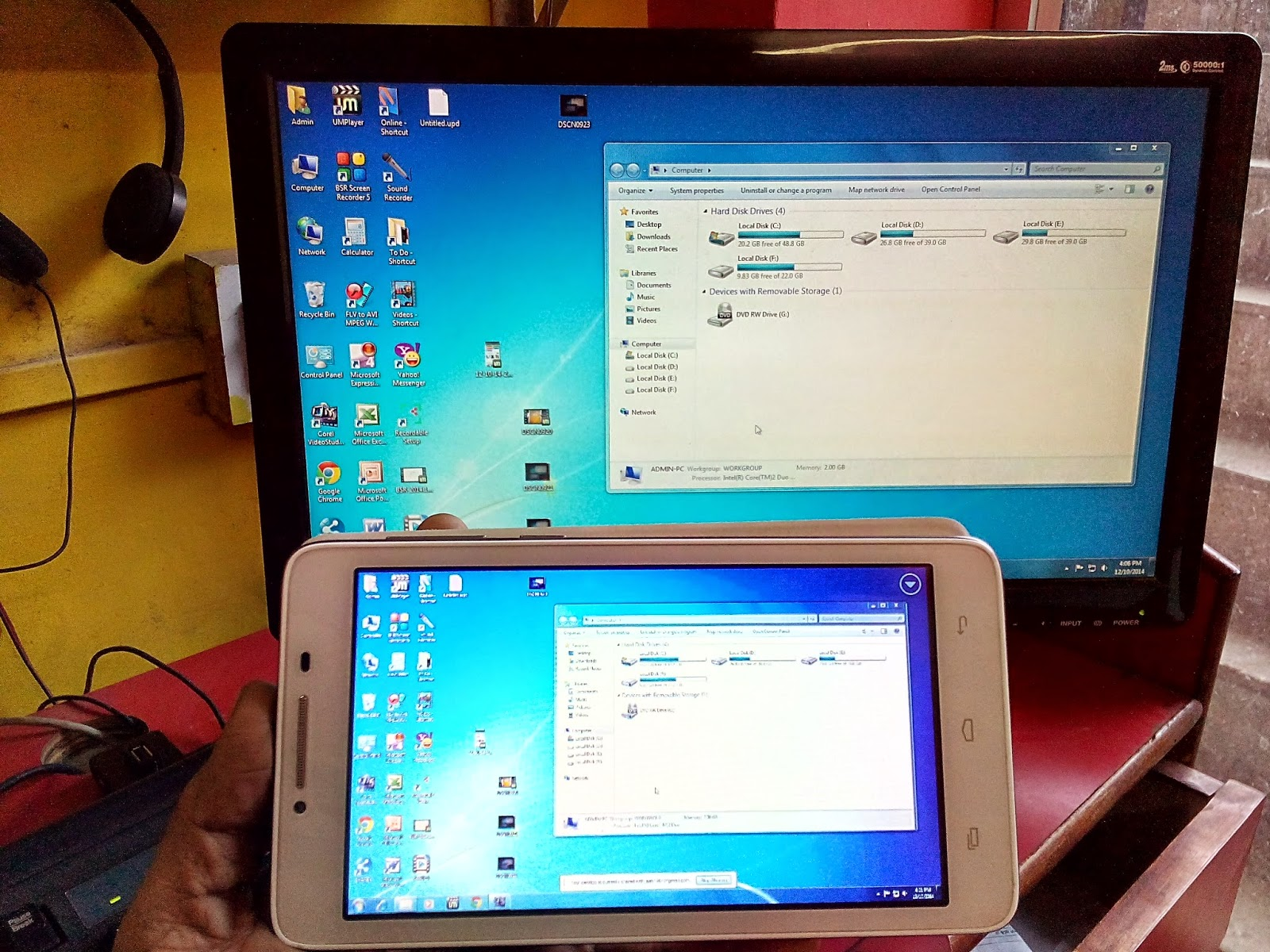 How to Share Use & Control Your Desktop Screen In Phone Or Tablet  chrome remote desktop