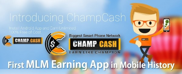 First MLM Earning App in Mobile History