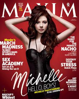 Michelle Trachtenberg - Maxim magazine March 2011 issue