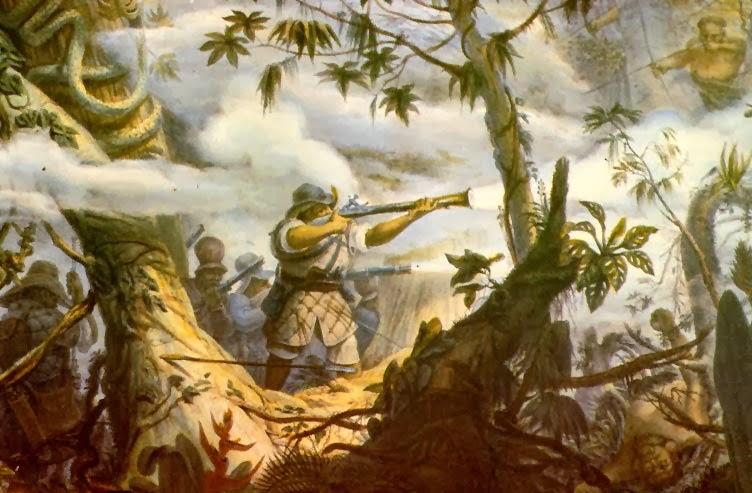 Soldados índios de Mogi das Cruzes, Jean-Baptiste Debret, 1834