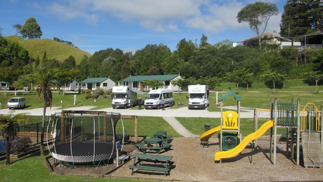 Waitomo Top 10 Holiday Park i New Zealand