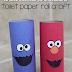 DIY Sesame Street Toilet Paper Roll