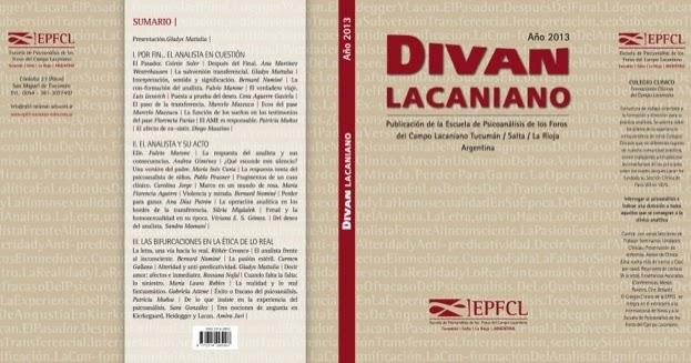 El psicoanalista lector d cimo aniversario 2007 2017 for Psicoanalisis lacaniano divan