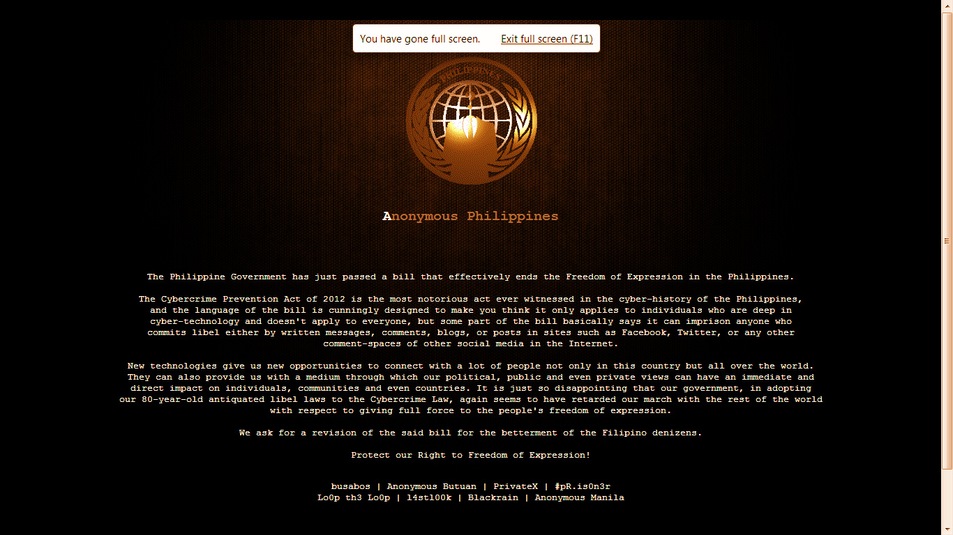 reaction paper about cybercrime law in the philippines A reaction paper on republic act the passing of republic act 10175 otherwise known as the cyber crime prevention of the law, i see nothing that.