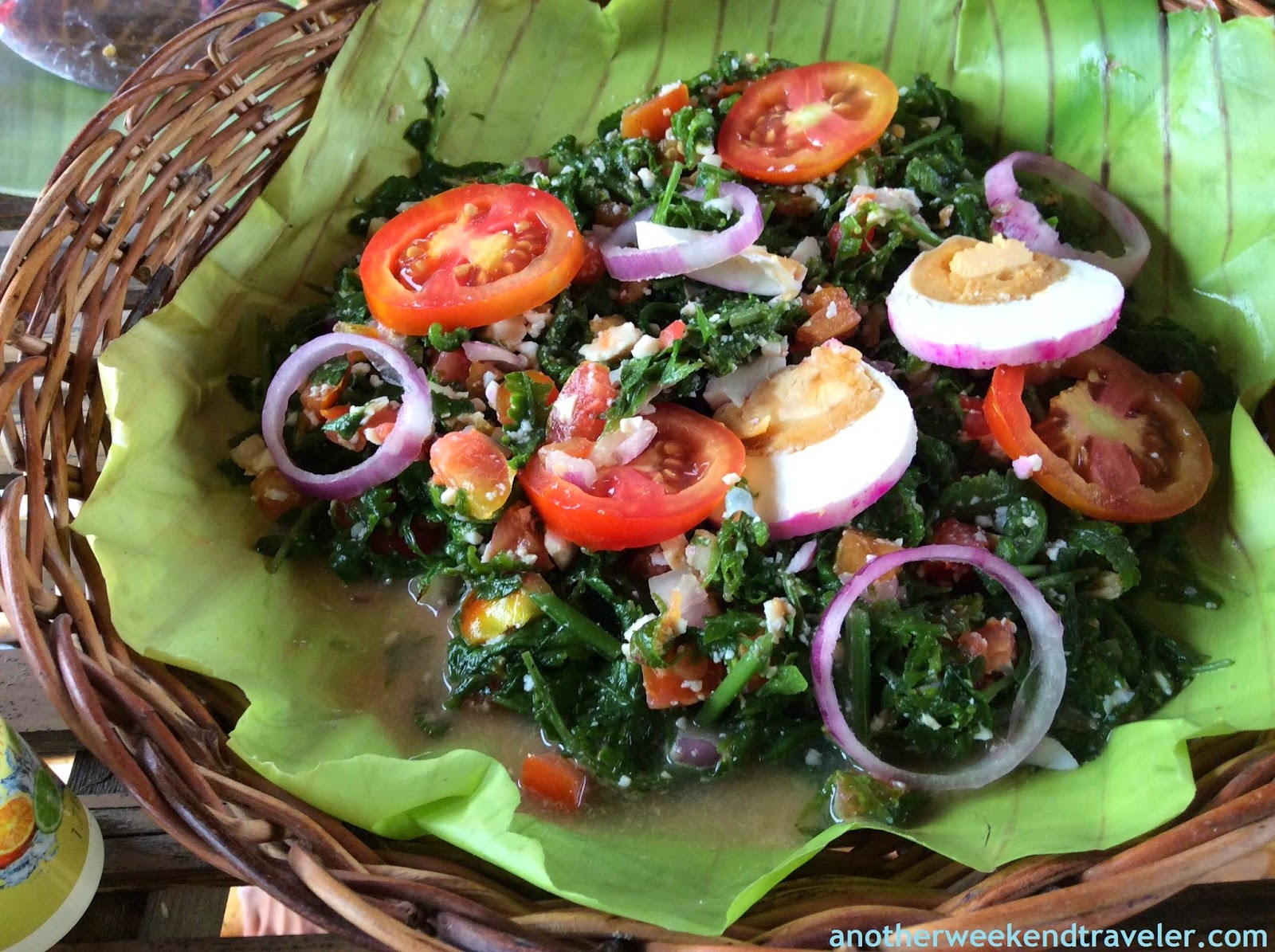 how to cook fern salad