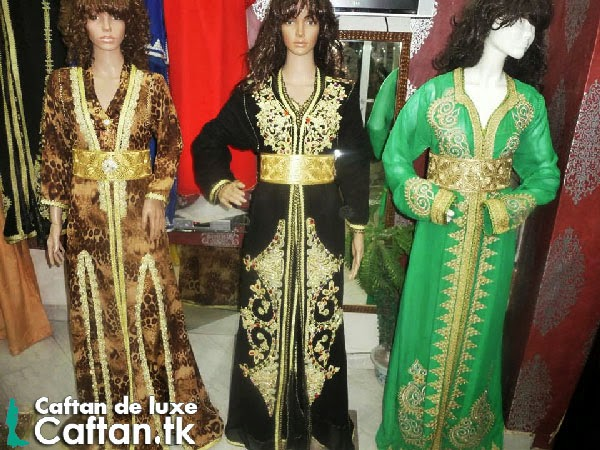 caftan purement marocain
