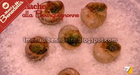 Lumache alla Bourguignonne di Benedetta Parodi