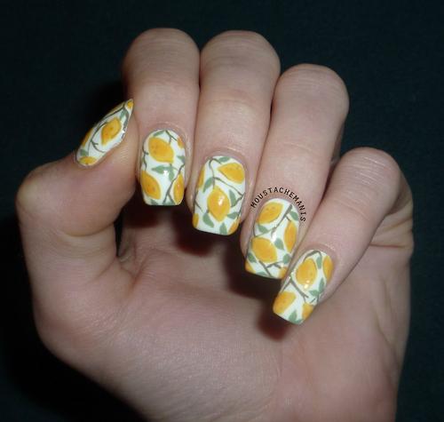 nail and art Ideias de Unhas para a Primavera