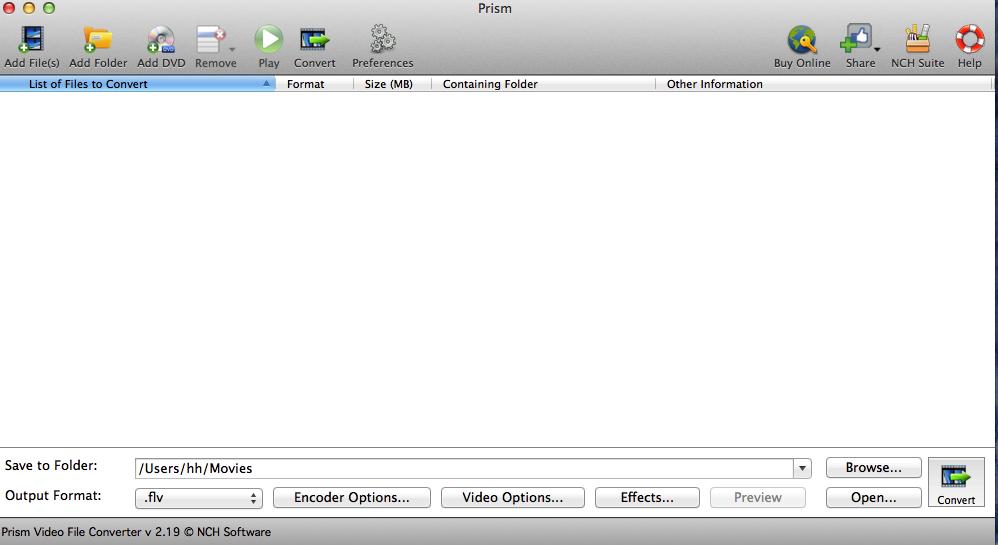 Prism Video File Converter - תוכנה להמרת קבצי וידאו - פריזם