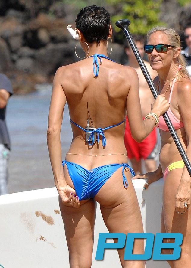 Bellezas de bikini de mediana edad
