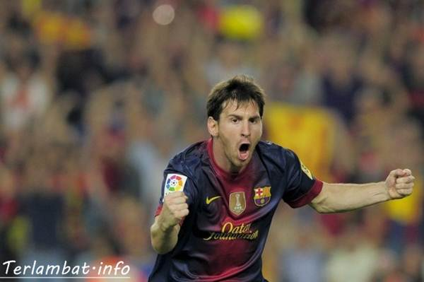 Lionel Messi Barcelona VS Real Madrid 8 Oktober 2012