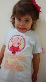 Michele Martins - Blusa personalizada Peppa Pig