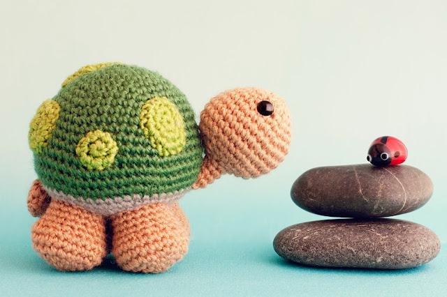 Amigurumi tortuga turtle