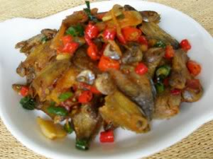 Resep Masakan  Ikan Asin Pedas