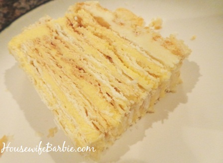 An american housewife lithuanian torte or a napoleon torte 20 known as a lithuanian torte or sometimes a napoleon torte it is layer upon layer of flaky delicate pastry a vanilla custard tasting creamy filling and forumfinder Gallery