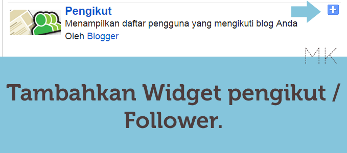 Cara Memasang Widget Follower Blog di Halaman Statis