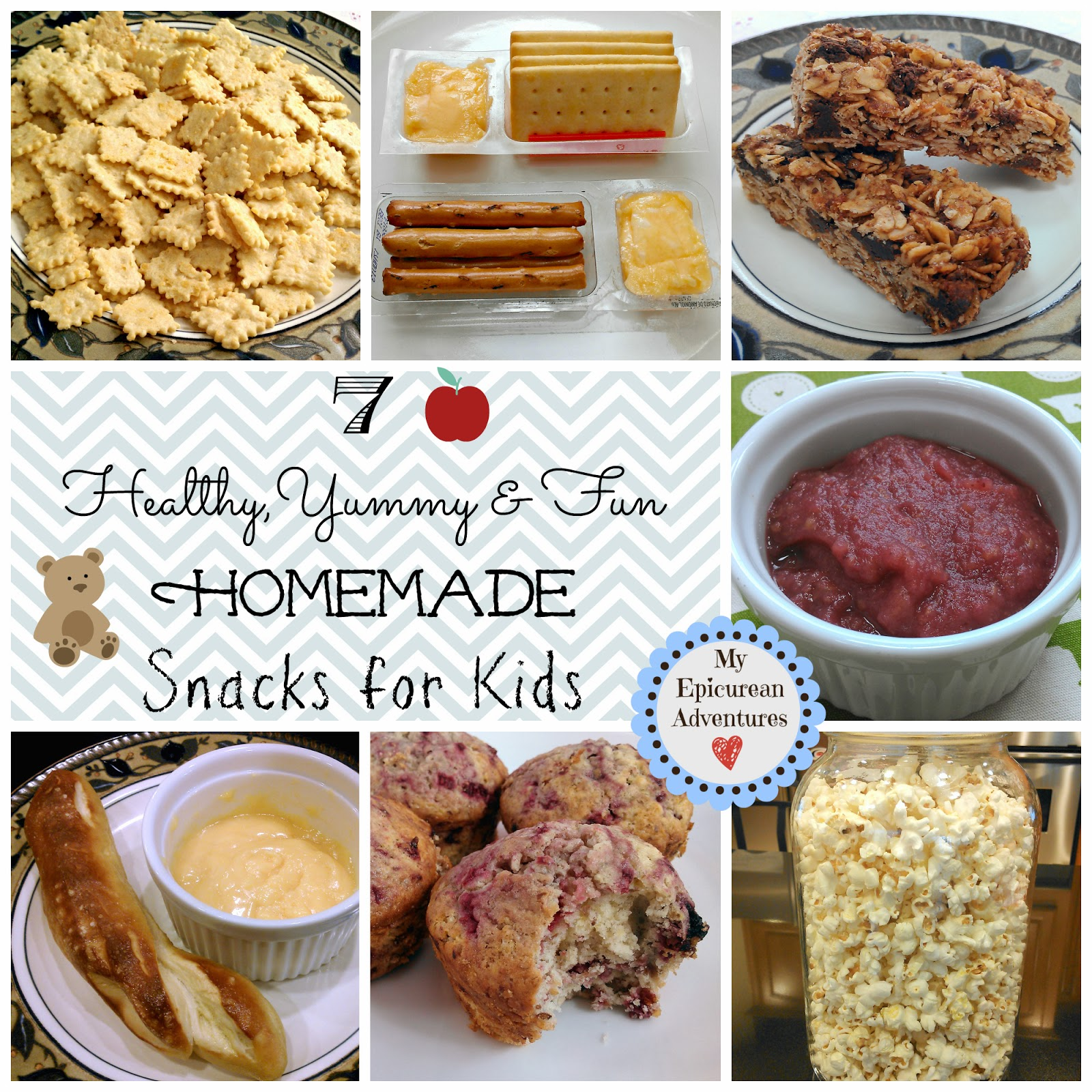 ... Adventures: 7 Healthy, Yummy and Fun Homemade Snacks for Kids