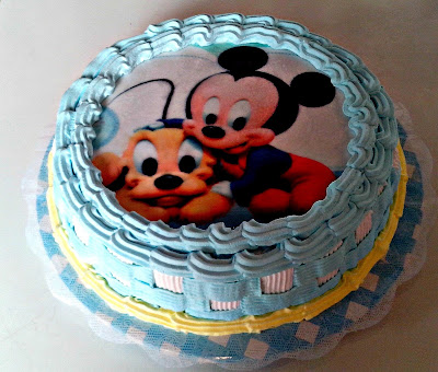 Bolos Turma Mickey / Minnie Baby