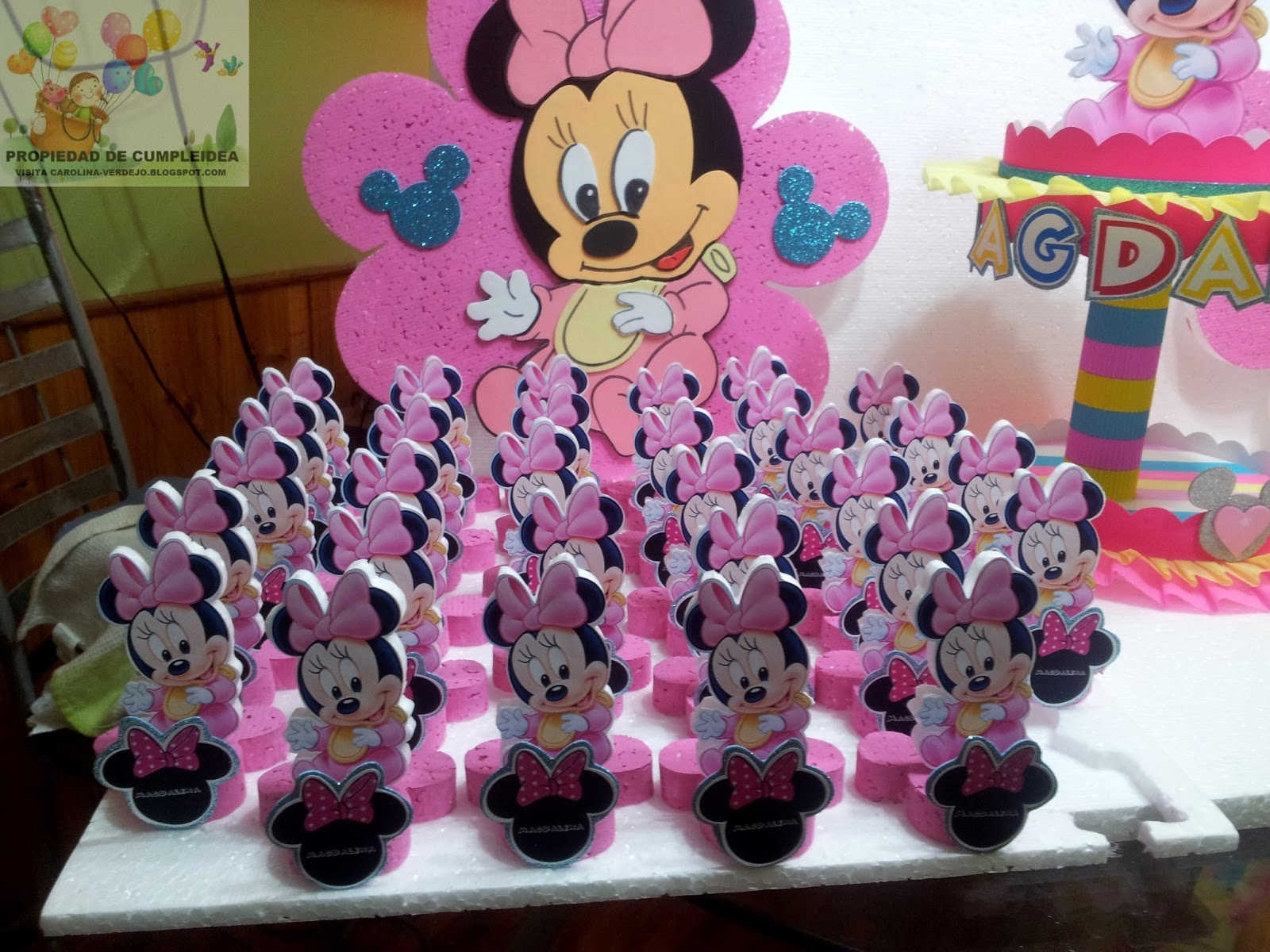 Decoracion Minnie Bebe ~ DECORACIONES INFANTILES MINNIE BEBE PACK