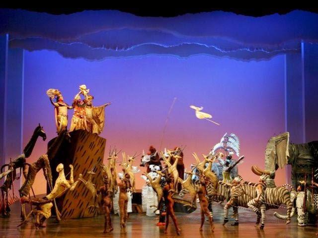 el rey leon: el musical