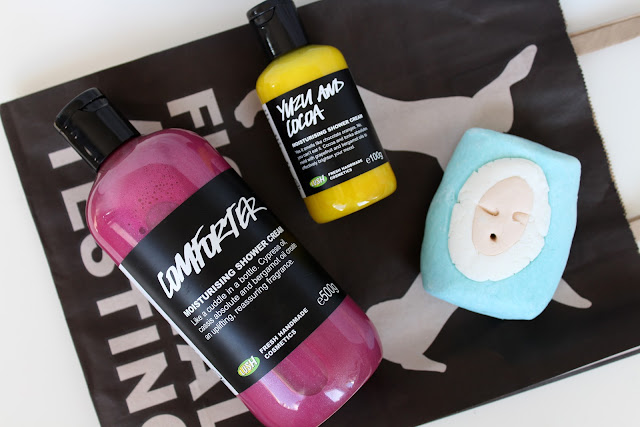 LUSH limited edition shower creams, Limited Edition LUSH, lush comforter shower cream, lush comforter shower gel, lush oxford street
