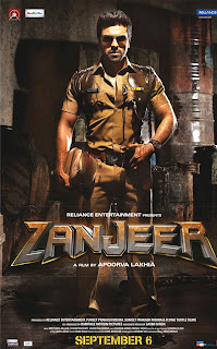 Ram charan zanjeer first look poster
