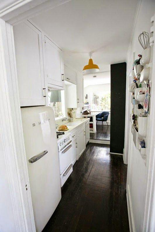 cmo decorar cocinas alargadas y estrechas