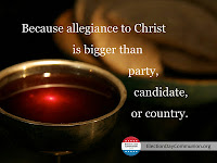 Election Day Communion Seeks to Heal Partisan Divide