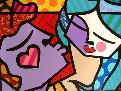 Artistas de desenhos abstratos