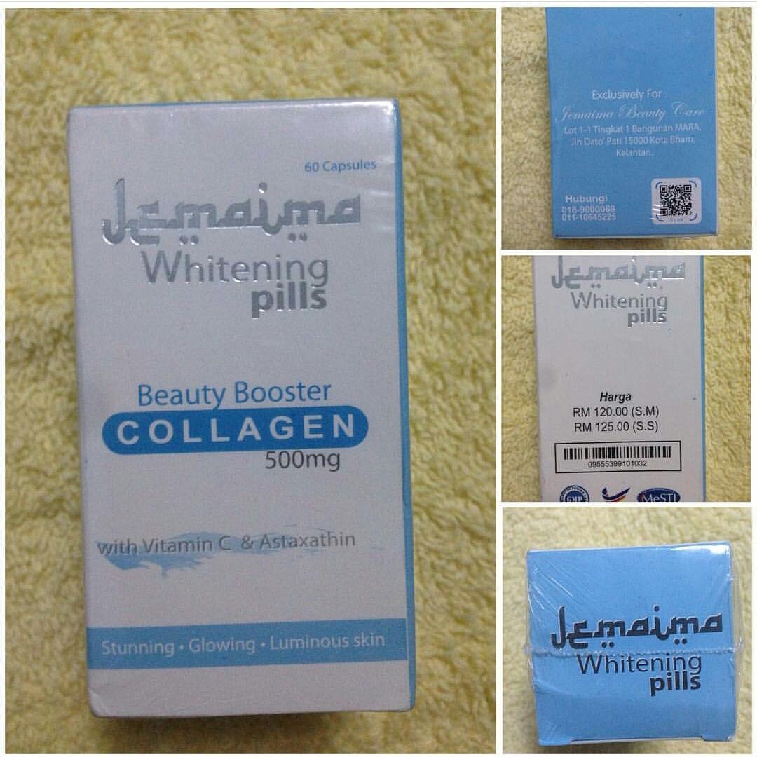JEMAIMA WHITENING PILS HARGA PROMOSI 013-3045279