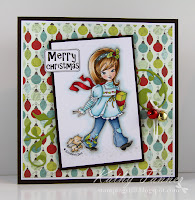 whimsy stamps, sugarberry bliss, elizabeth bell. christmas