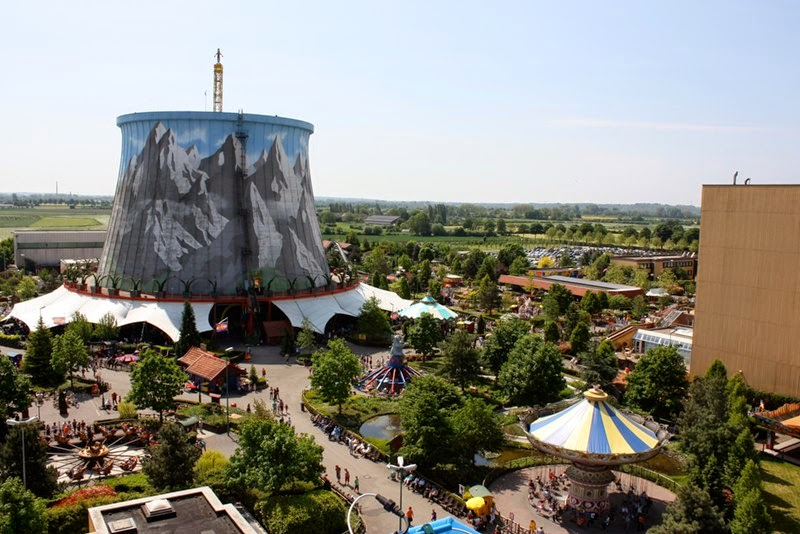 Wunderland Kalkar Amusement Park | Nuclear Plant Transformed Into Amusement Park