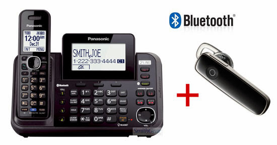 Smithgear news new 2 line cordless bluetooth panasonic kx tg9546b range extender bundle sciox Images