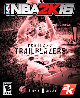 NBA 2K16 Custom Covers - Portland Trail Blazers