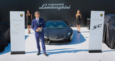 Lamborghini Head Stephan Winkelmann, Monterey Classic Car Week & an Audemars Piguet Royal Oak Offshore