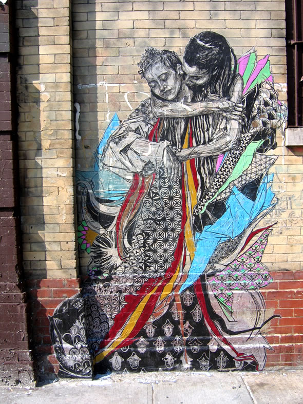 Wall Graffiti Art By Swoon Nice N Funny
