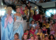 We sang with Cinderella