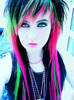 Hairstyle Emo Girl Wallpaper(02)