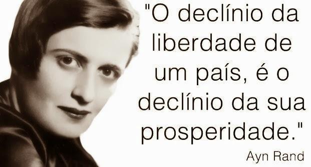 Fala Ayn Rand!
