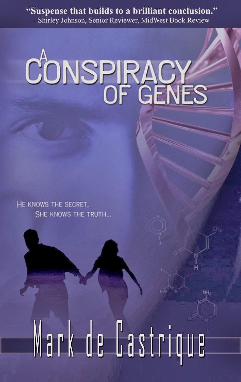 A Conspiracy of Genes by Mark de Castrique cover
