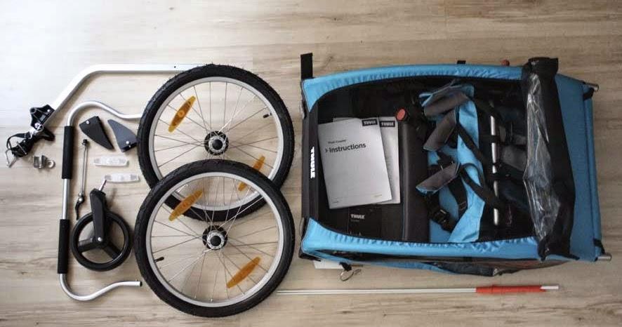 odkrywcza mama test podw jnej przyczepki rowerowej thule cz 1. Black Bedroom Furniture Sets. Home Design Ideas