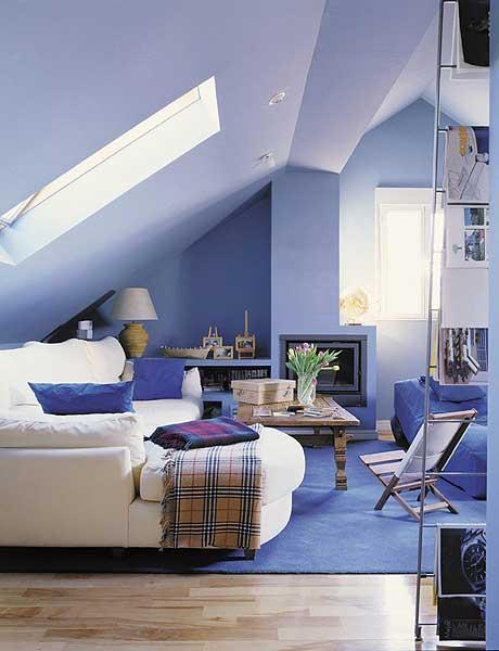 decoracao de interiores sotaos:Uma sala para ver televisão, ler o que quiser